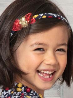 Cerchietto con stampa a fiori e dettagli cuori bambina BOPIPLETTE / 21H4PFS3TET070