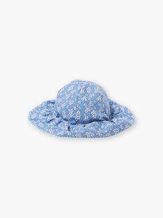Cappello double face blu lavanda bambina ZUVERSETTE / 21E4PFT2CHAC208