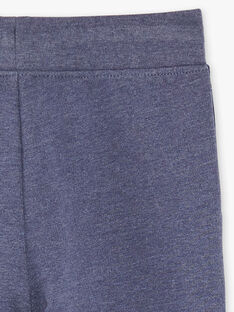 Heathered blue JOGGING PANT ZEBALAGE2 / 21E3PGK3JGB222