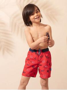 Shorts mare rossi bambino ZYSHORTAGE / 21E4PGR7MAI505