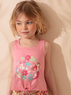 Completo da spiaggia rosa bambina ZAOLUETTE / 21E2PFQ1ENS305