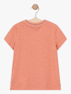 T-shirt maniche corte marrone bambino TOCOTAGE / 20E3PGQ2TMCF506