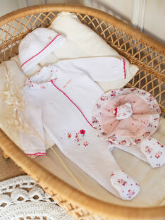 Pigiamino bianco e berretto neonata ZOLOUANE B / 21E0NFY1GRE000