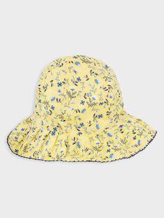 Cappello con stampa a fiori bambina TOIFUETTE / 20E4PFO1CHA000