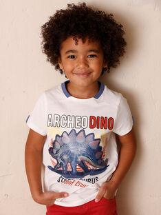 T-shirt maniche corte ecrù bambino ZESOUAGE / 21E3PGB1TMC001