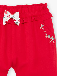 Pantaloni rossi ZAAMBRE / 21E1BFJ1PANF505