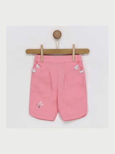 Pantaloni capri rosa RAKAMILLE / 19E1BFF1PCO318