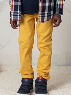 Pantaloni gialli bambino BEFOAGE / 21H3PG54PANB114