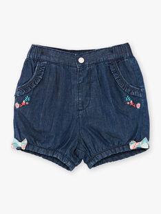 Shorts blu scuro in denim ZACHARLINE / 21E1BFI1SHOK005