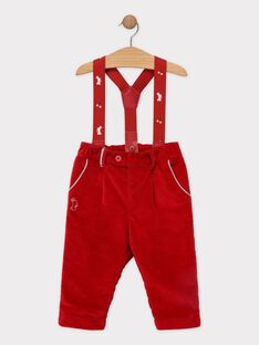 Red pants SAWALLY / 19H1BGP1PAN050
