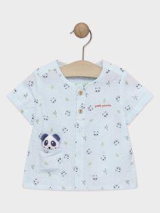 Camicia neonato con stampa a quadri TAPAO / 20E1BGP1CHMC200