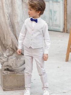 Pantaloni da completo beige bambino TICOAGE / 20E3PGJ1PAN808