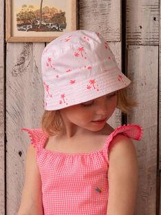 Cappello da pescatore rosa bambina ZYBOBETTE / 21E4PFU1CHAD311