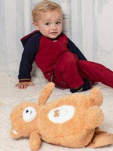 Zaino orsetto marrone neonato BAFELICE / 21H4BG51BESI804