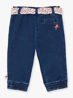 Jeans e cintura con stampa neonata BAANGELE / 21H1BF11PANP270