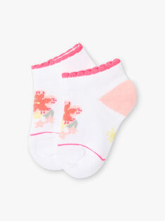 Calzini bianchi fiori neonata ZASUNDAY / 21E4BFU1SOB000