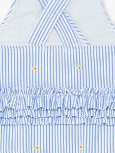 Costume da bagno blu e bianco neonata ZISOPHIA / 21E4BFR3MAI208