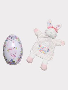 Uovo di Pasqua e pupazzo neonata THEA / 20E4BFU1JOU001