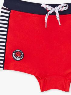 Parigamba mare rossi a righe bambino ZYBOXAGE / 21E4PGR2MAI505