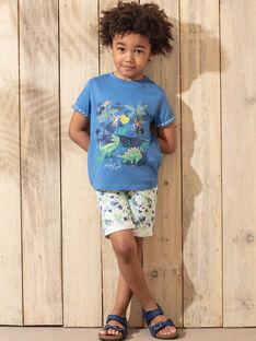 Bermuda verdi con stampa foglie bambino TUWAGE / 20E3PGX4BER001