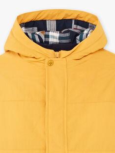 Impermeabile giallo imperiale con piumino staccabile bambino BARISTAGE / 21H3PGC3IMPB114