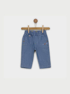 Jeans blu jeans RACLEMENT / 19E1BG61JEA704