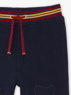 Pantaloni sportivi navy neonato BAFREDDY / 21H1BG51JGB070