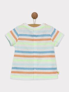 T-shirt maniche corte verde RAWAREN / 19E1BGQ1TMC108