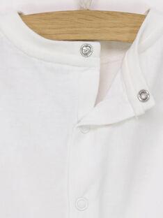 T-shirt maniche corte ecrù RAFIFI / 19E1BFC1TMC001