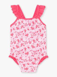 Costume da bagno rosa neonata ZISUCRE / 21E4BFR2MAI001