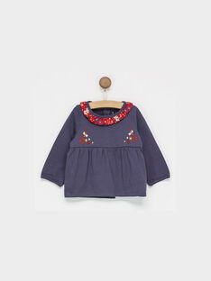 Navy Baby blouse PAAMELIE / 18H1BF21BRAC203