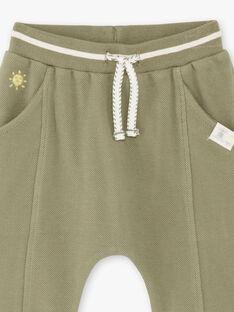 Pantaloni sportivi kaki neonato ZAADAMO / 21E1BG71JGB604