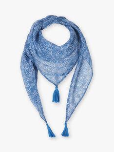 Foulard blu lavanda bambina ZUROETTE / 21E4PFT1ECHC208