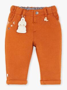 Pantaloni felpati cammello VASIMON / 20H1BGY1PANB112