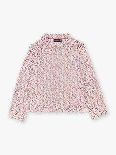 Camicia maniche lunghe con stampa a fiori neonata BAFERETTE / 21H2PF11CHE001