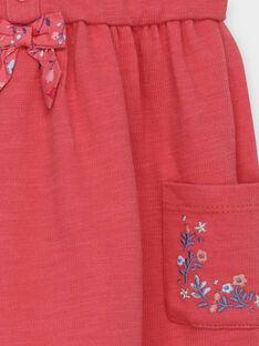 Abito rosa a maniche corte RABETTY / 19E1BF21ROB303