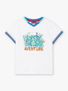 T-shirt bianca stampa animali ZABLOAGE / 21E3PGJ1TMC000