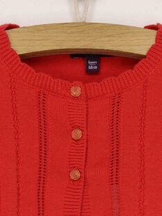 Cardigan rosso RAMARION / 19E1BFE1CAR050