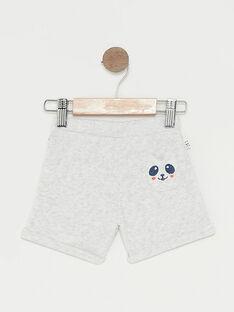 Shorts sportivi neonato grigio melange TAPIERROT / 20E1BGP1JGBJ920