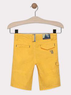 Bermuda giallo paglierino bambino SALOUAGE / 19H3PG22BER104