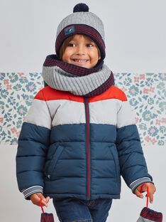 Parka tricolore interno in pile bambino BASIOTAGE / 21H3PGE1PARC230