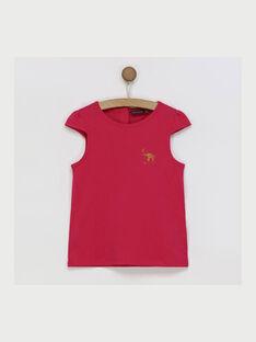 T-shirt maniche corte fucsia RUFAPETTE 3 / 19E2PFM3TMC304