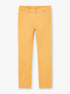 Pantaloni gialli bambina BROSAETTE3 / 21H2PFB6PANB106