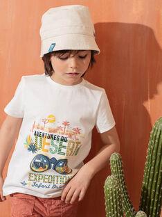 Cappello da pescatore beige bambino TOBORSAGE / 20E4PGQ2CHAA011