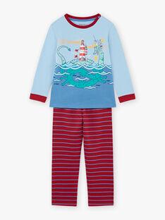 Completo pigiama con motivo drago bambino BIDRAGAGE / 21H5PG71PYJ020
