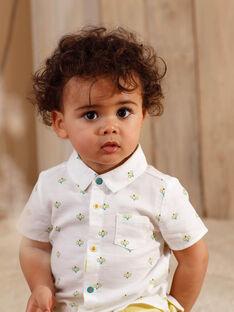 Camicia ecrù neonato ZAMARCEL / 21E1BGO1CHM001