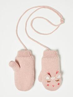 Pink GLOVES VEPUOETTE / 20H4PFJ2GAND313