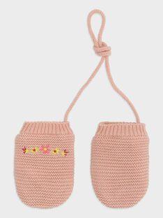 Muffole rosa punto legaccio neonata TABIANCA / 20E4BFB1GAN307