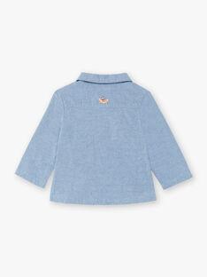 Cardigan blu neonato ZAOMAR / 21E1BGT1GILP265