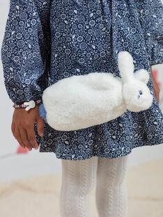 Borsa a tracolla coniglio in finta pelliccia bambina BYPAGETTE / 21H4PFL1BES001